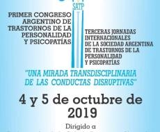 Primer congreso argentino de trastornos de la personalidad y psicopatías